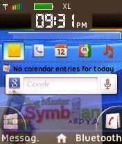 Trik Mempercantik Tampilan Homescreen Symbian S60v2