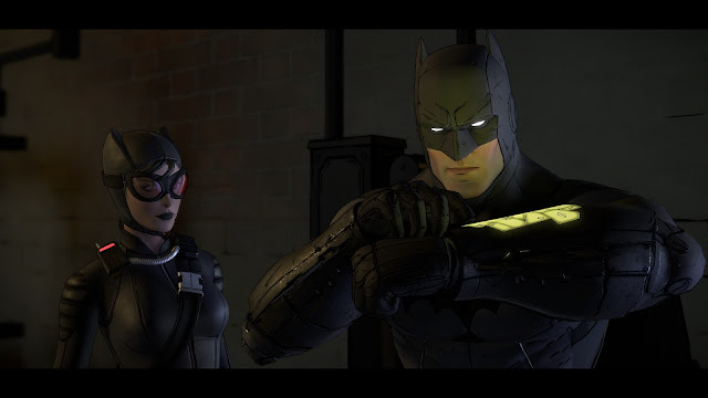 Screenshot from Batman - The Telltale Series