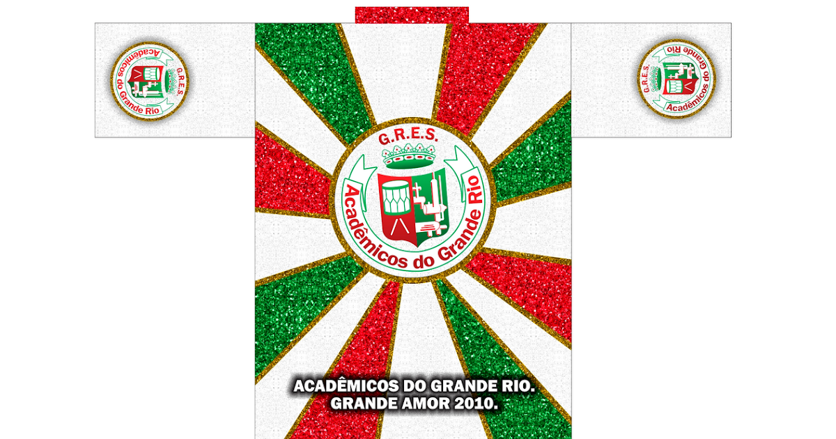 CarlosFabrícioComunicólogo  Camisa Promocional Escola de Samba Acadêmicos  da Grande Rio 2010 939682f80ab7b