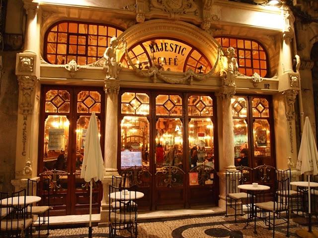 Restaurante Majestic Café em Porto
