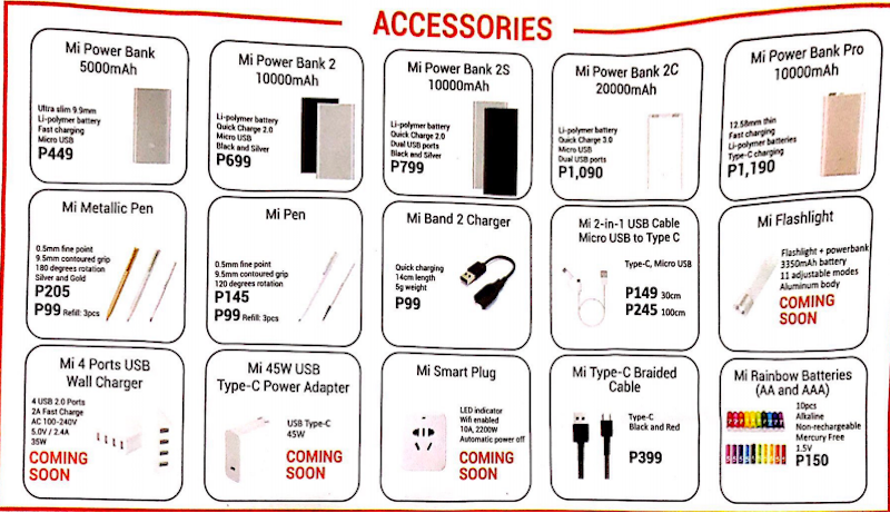 Xiaomi's accessories part 2