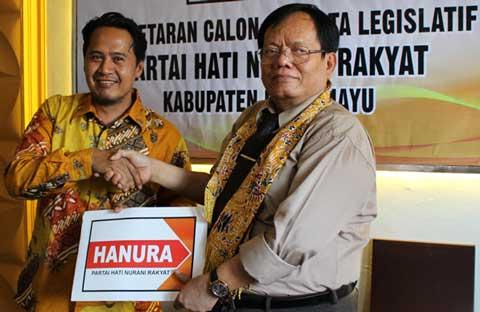 hanura buka pendaftaran calon anggota legislatif