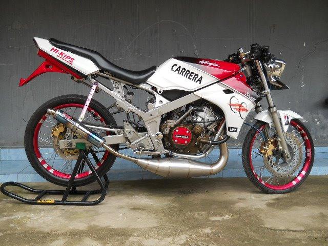 Modifikasi Ninja 150 Rr 2014