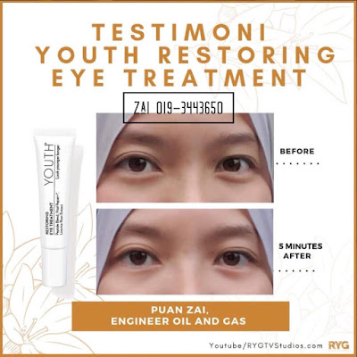 testimoni restoring eye treatment youth