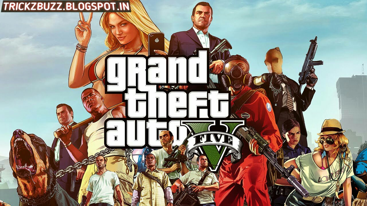 Free Download GTA 5 APK+Obb Data Files for Android | Tech Poison