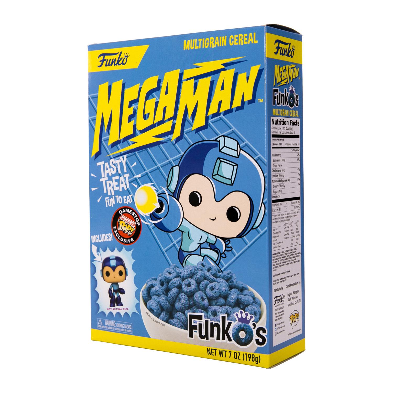 Mega Man World News: Mega Man FunkO's Cereal Is Coming