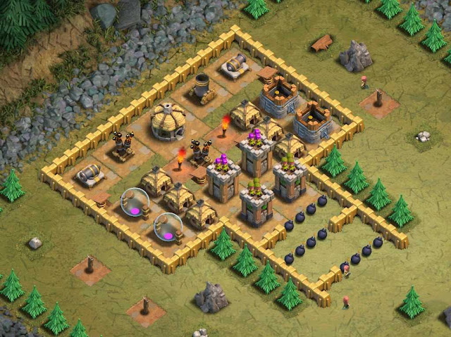 Goblin Base Clash of Clans Queen's Gambit