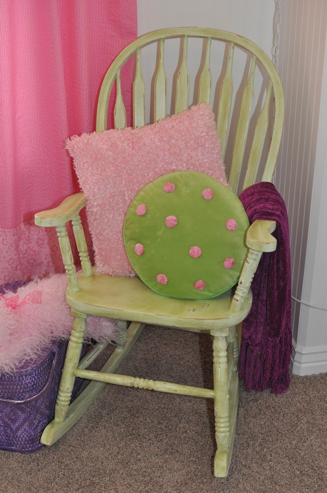 green rocking chair covers wedding for sale cleverly crafty l ight