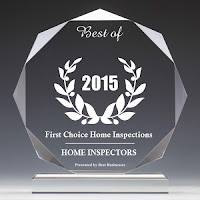 best business 2015 award for home inspection