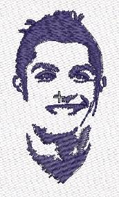 Cristiano Ronaldo en emb estilo stencil