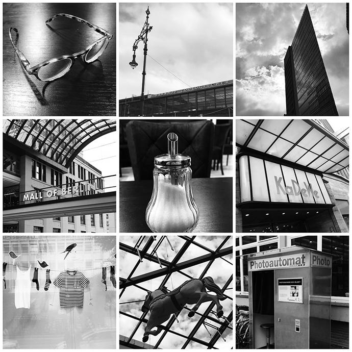 Multipicture Berlin schwarzweiß Fotografie