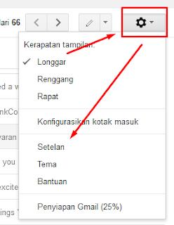 Cara setting email domain ke Gmail