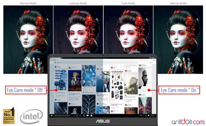 """Asus Zenbook UX410UQ """" Adrenalinnya Para Creator """""""
