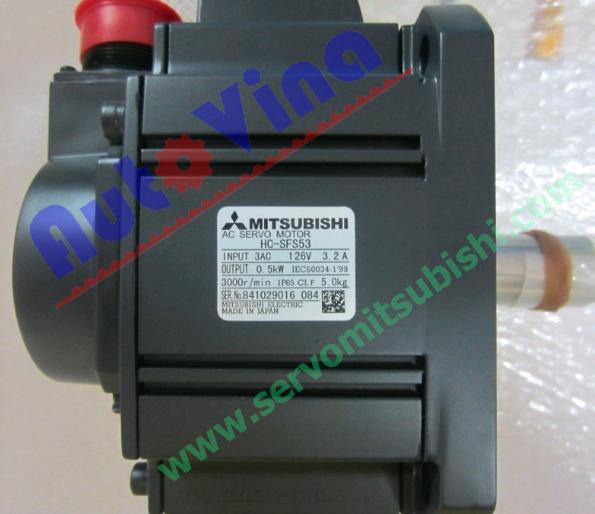 Động cơ Servo Motor HC-SFS53 công suất 500W, 3000 vòng / phút dùng cho MR-J2S-60A, MR-J2S-60B