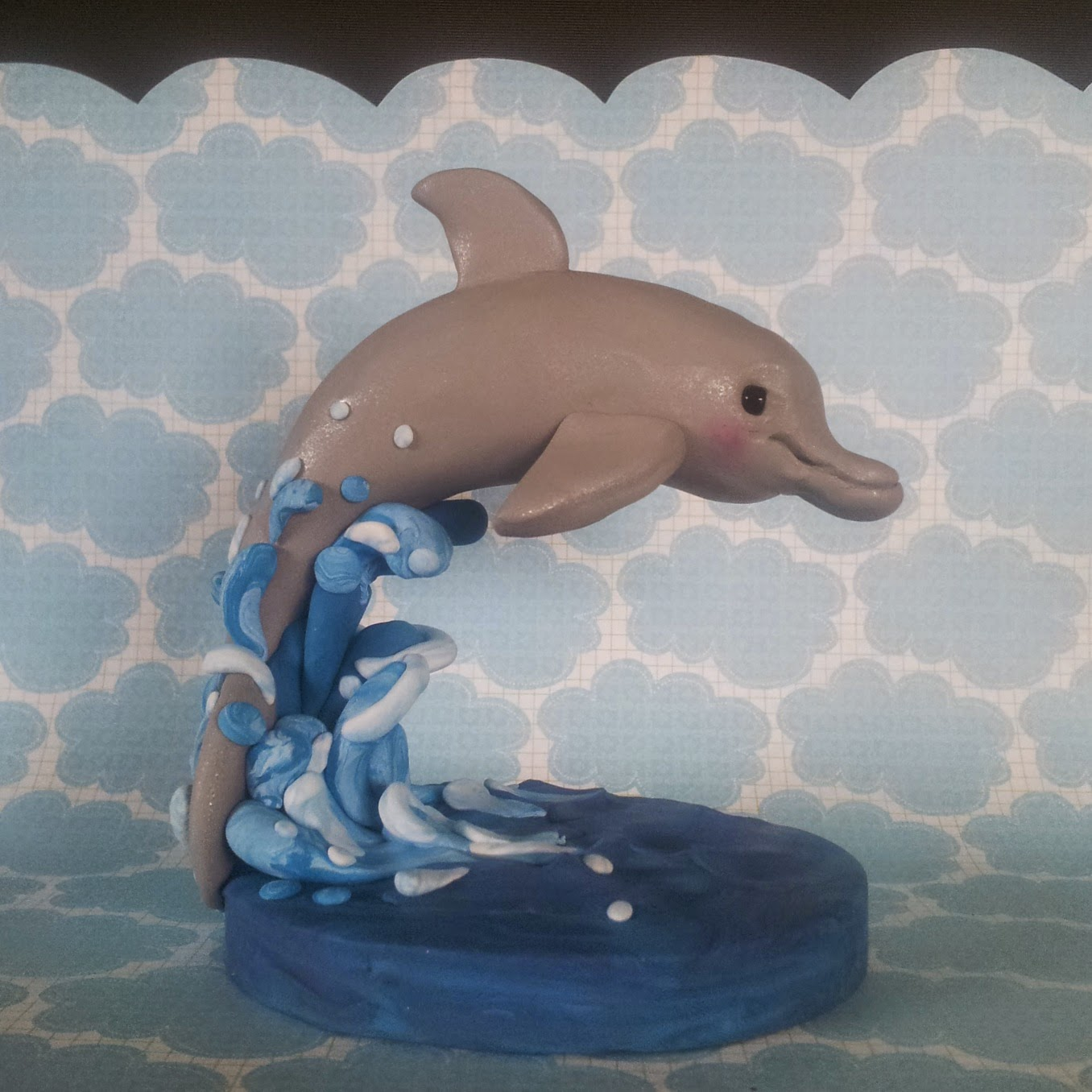 Dolphin Cake Topper I Do Cake Toppers