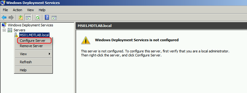 Terry L@u's blog: Installing and Configuring WDS and MDT