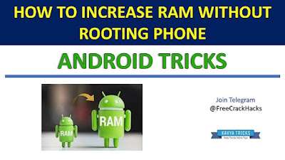 HOW TO INCREASE RAM WITHOUT ROOTING PHONE 1