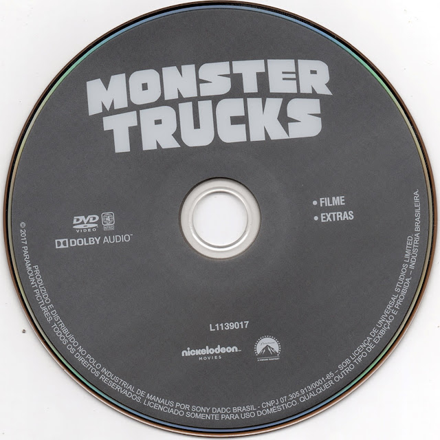Label DVD Monster Trucks (Oficial)
