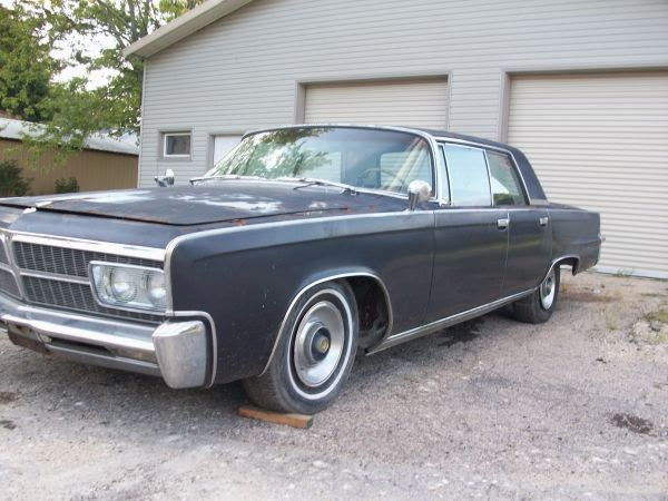 1965 Chrysler Imperial Ready For Restoration Auto