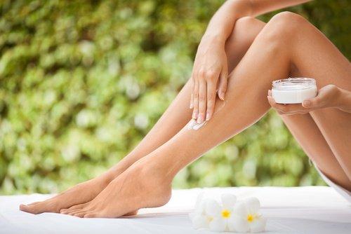 Crème naturelle pour les jambes