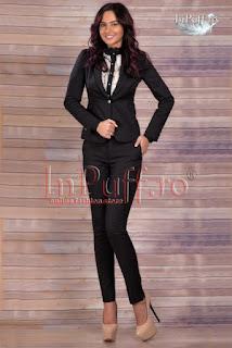 Costum dama negru elegant • MBG2