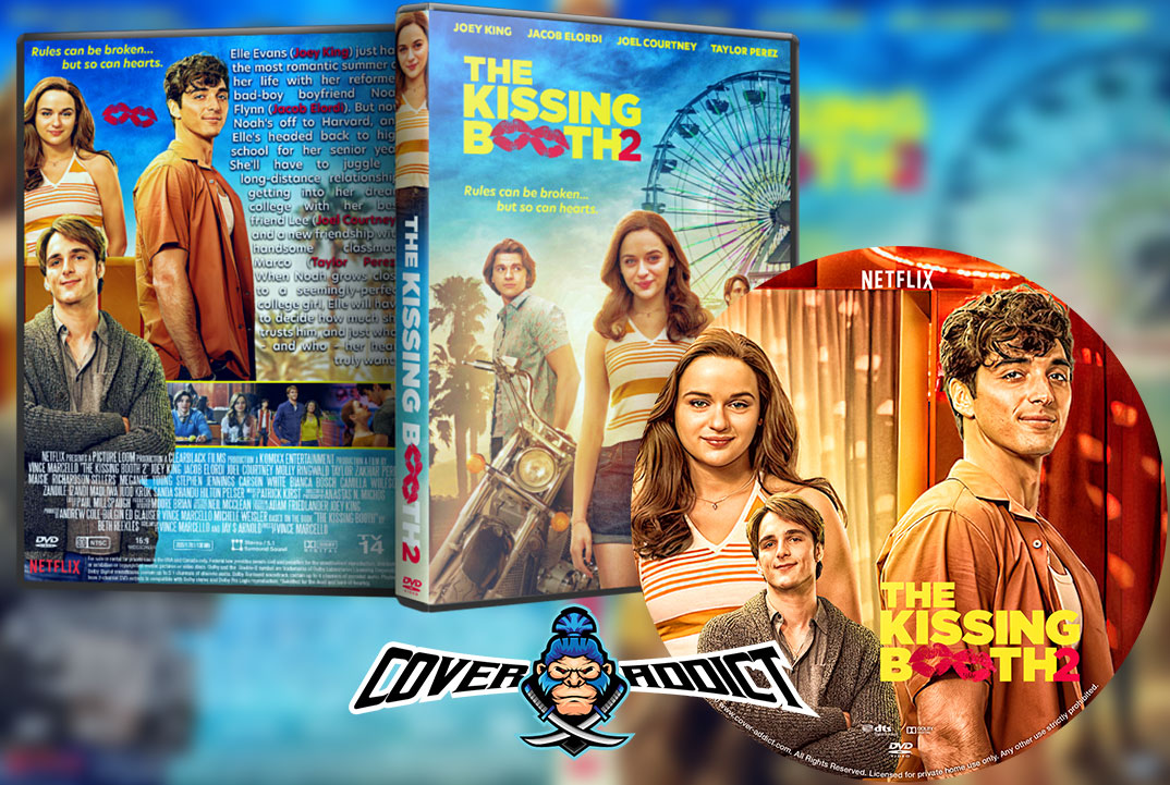 The Kissing Booth 2 2020 Dvd Cover Cover Addict Free Dvd Bluray Covers And Movie Posters