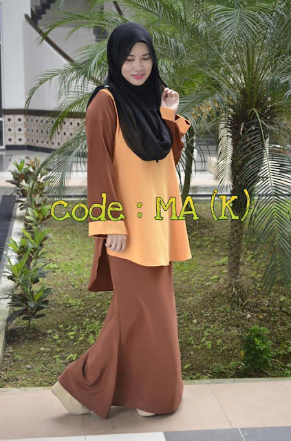 AMRA BLOUSE SAIZ XXL & XXXL - SOLD OUT