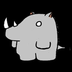 Everyday expressive Rhinoceros 2