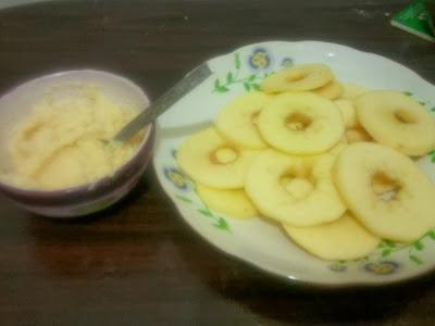رغيفات بالتفاح بالصور