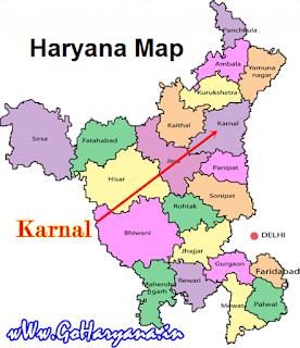 Karnal map