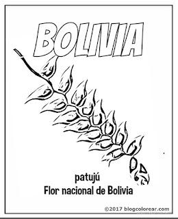 patuju flor nacional bolivia