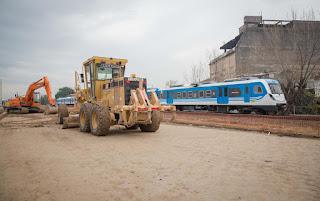 Comenzaron las obras el viaducto del Belgrano Sur
