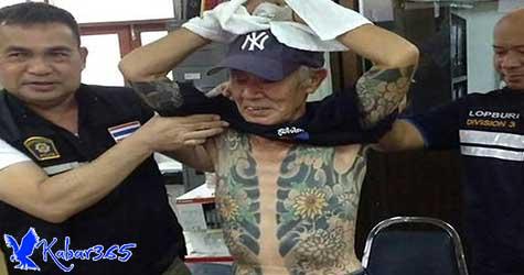 Foto Tattoo Viral, Mantan Pimpinan Yakuza yang Buron 14 Tahun Tertangkap