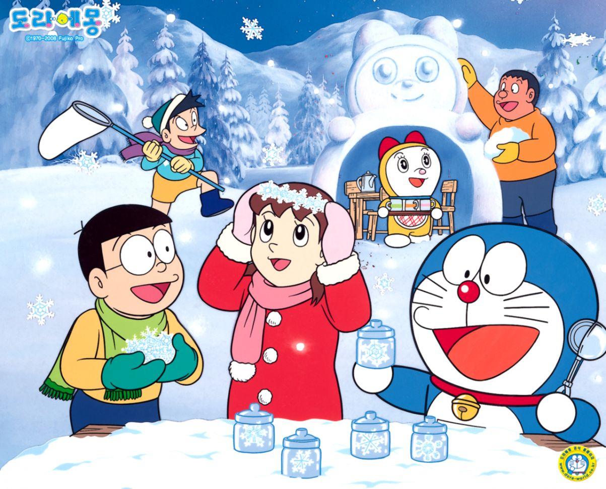 2D Doraemon Wallpaper  Like Wallpapers