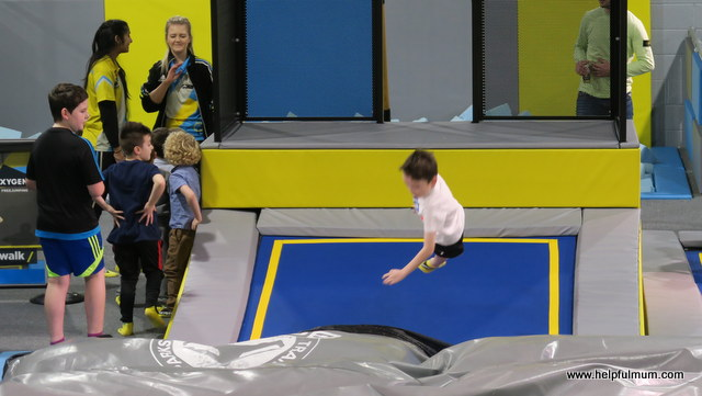 Jumping at Oxygen Leeds