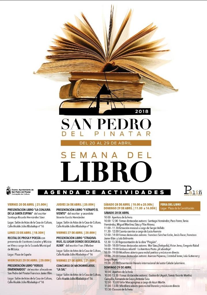 Puentes y muros semana del libro en san pedro del pinatar - Pedro banos libros ...