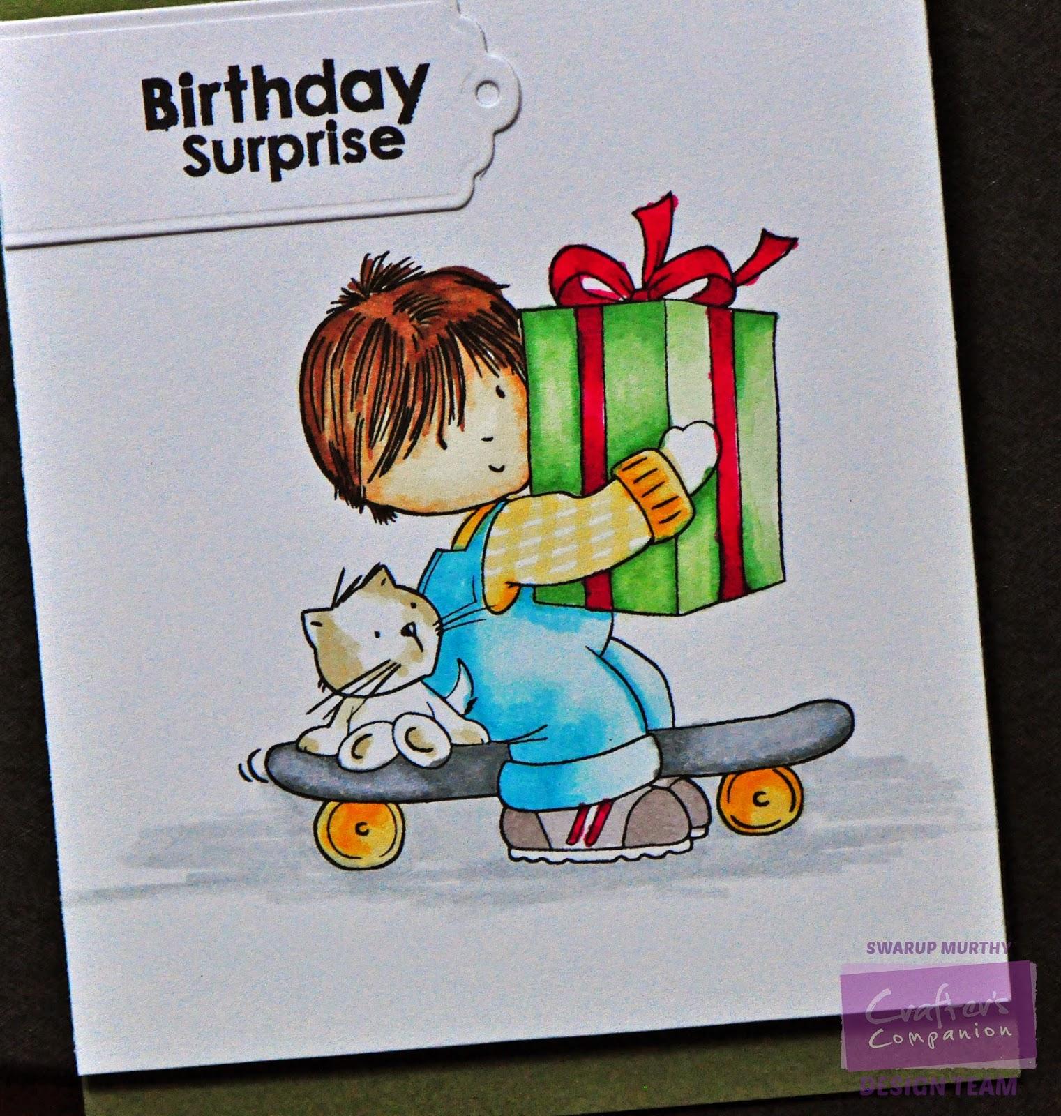 The Storyteller: Birthday Surprise