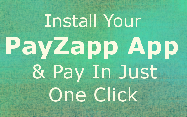 Bank Lane: Install your PayZapp app and pay in Just one click