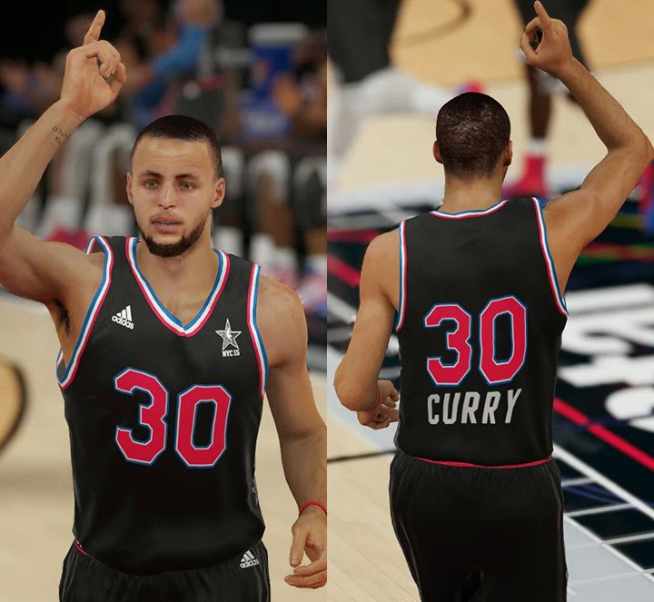 NBA 2K15 2015 All-Star Jerseys