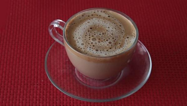 evde cappuccino yapımı - www.kahvekafe.net