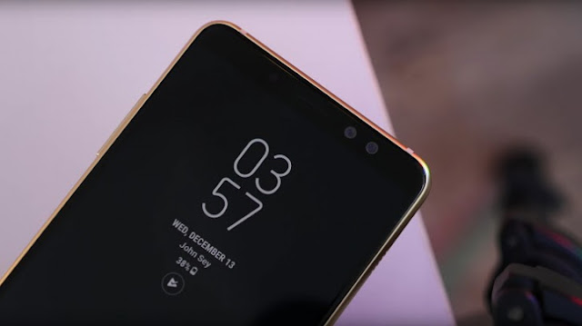 Harga Dan Full Spesifikasi Samsung Galaxy A8+ (2018)