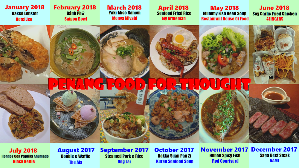 Penang Food For Thought