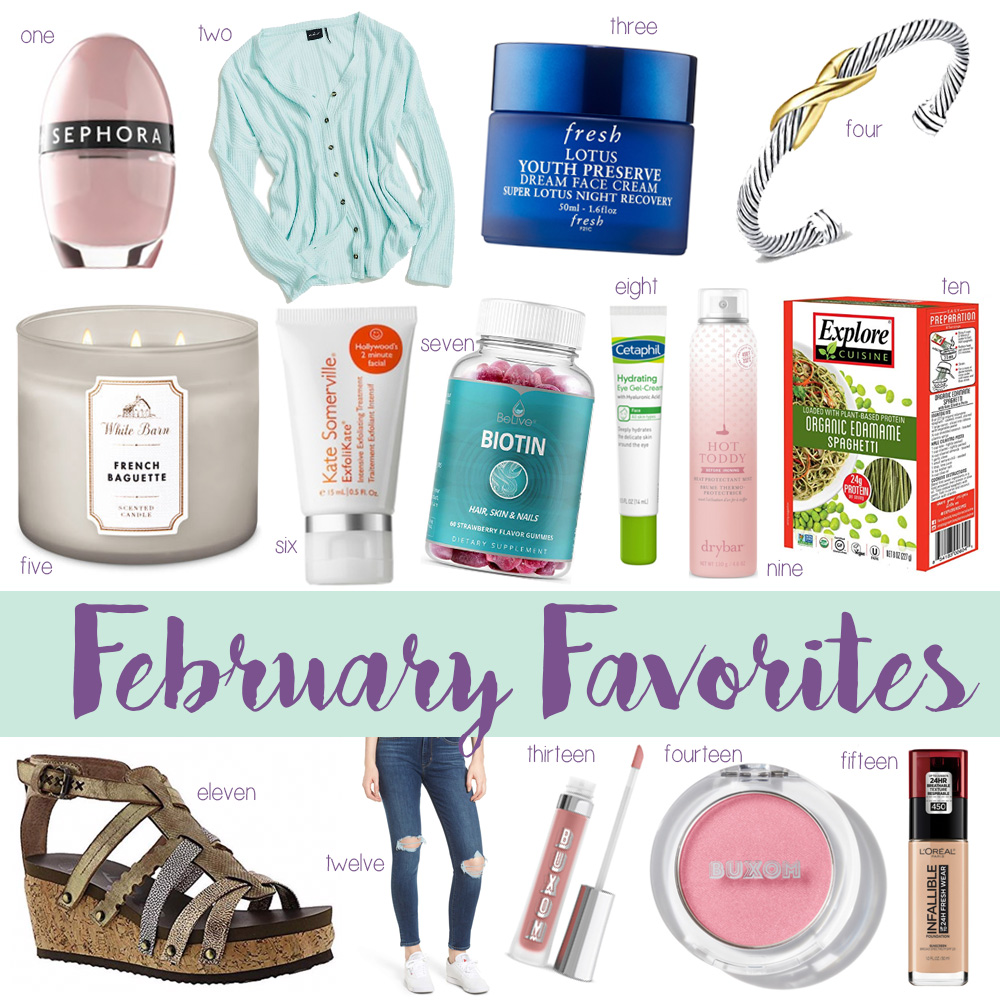 OKC blogger Amanda Martin of Amanda's OK shares her favorite products from February