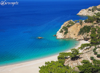 spiaggia Apella Karpathos Grecia