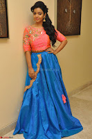 Nithya Shetty in Orange Choli at Kalamandir Foundation 7th anniversary Celebrations ~  Actress Galleries 037.JPG