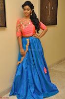 Nithya Shetty in Orange Choli at Kalamandir Foundation 7th anniversary Celebrations ~  Actress Galleries 037.JPG
