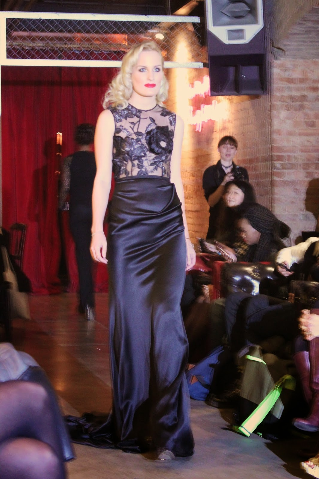 london-fashion-week-lfw-kolchagov-barba-catwalk-models-runway-dresses-collection-spring-summer-2015-ss15