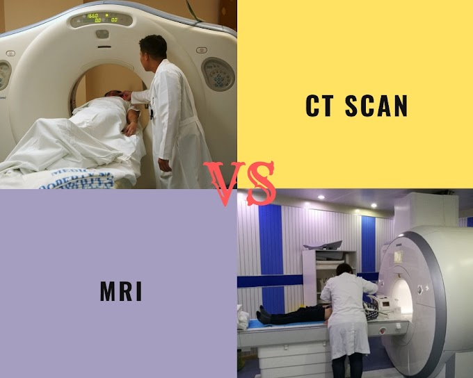 What is the Difference between CT Scan And MRI ?