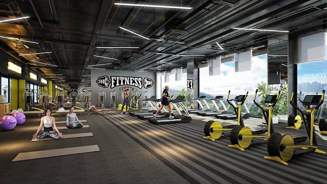Hệ thống phòng tập Gym của dự án 79 Ngọc Hồi