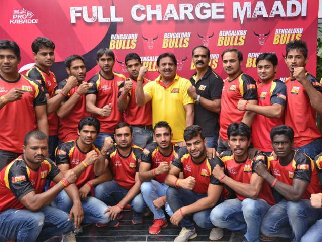 Bengaluru Bulls Team 2016